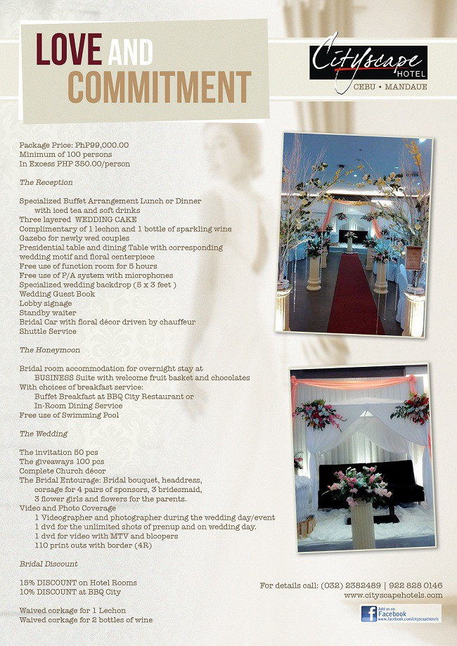 Love Commitment Wedding Package 1